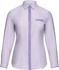 Koszula modneduzerozmiary.pl z bawełny z długim rękawem