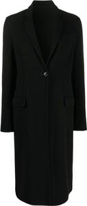 Czarny płaszcz Marni
