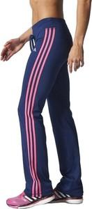 Spodnie Adidas Performance w sportowym stylu z dresówki