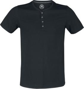 Czarny t-shirt Russell z bawełny z krótkim rękawem