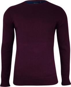 Czerwony sweter Brave Soul z bawełny
