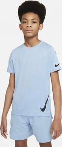 Niebieska koszulka dziecięca Nike
