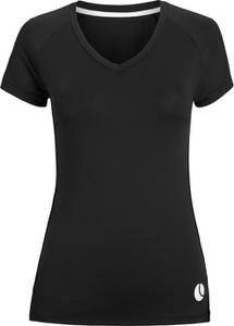 Czarny t-shirt Bjorn Borg z krótkim rękawem