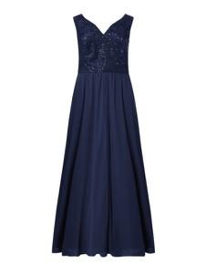 Sukienka Sheego maxi z dekoltem w kształcie litery v