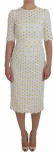 Sukienka Dolce & Gabbana z krótkim rękawem midi w stylu casual