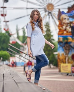 9df43625f79533 koszula ciążowa - stylowo i modnie z Allani