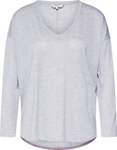 Bluzka Tommy Hilfiger w stylu casual z długim rękawem z tkaniny
