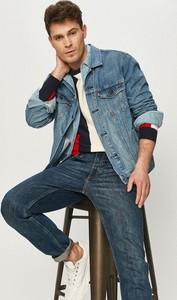 Niebieski sweter Pepe Jeans z jeansu