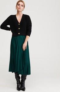 Zielona spódnica Reserved w stylu klasycznym