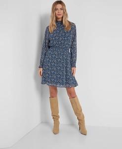 Niebieska sukienka ORSAY w stylu casual mini