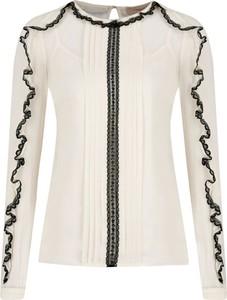 Bluzka Twinset z okrągłym dekoltem w stylu casual