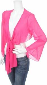 Różowy sweter Rinascimento w stylu casual