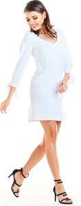 Sukienka Awama z długim rękawem mini