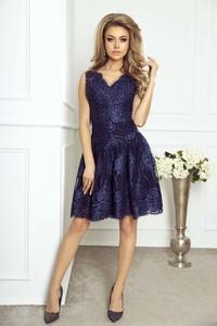 Niebieska sukienka Imesia bez rękawów midi