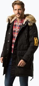 Czarny płaszcz męski Diesel