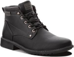 Czarne buty zimowe Lanetti