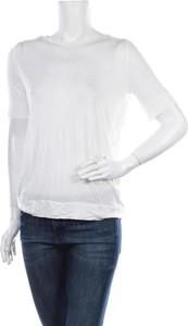 Bluzka Whyred z okrągłym dekoltem w stylu casual