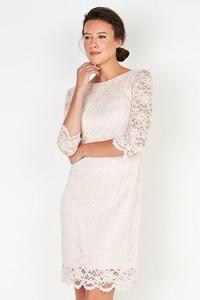 Sukienka PATRIZIA ARYTON z okrągłym dekoltem