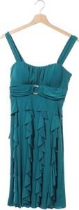 Niebieska sukienka Jade na ramiączkach z dekoltem w kształcie litery v