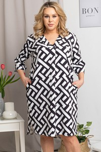 Sukienka KARKO mini z tkaniny