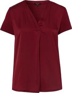 Bluzka More & More w stylu casual z krótkim rękawem z jedwabiu