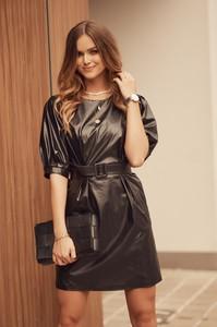 Czarna sukienka Fasardi mini