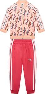 Bluzka dziecięca Adidas z dzianiny