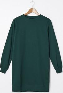 Zielona sukienka House mini prosta