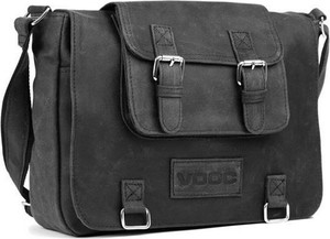 Czarna torebka VOOC duża