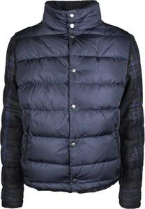 Niebieska kurtka Tommy Hilfiger z tkaniny w stylu casual