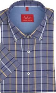 Koszula Ben Green z krótkim rękawem w stylu casual