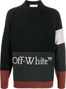 Czarny sweter Off White z wełny