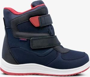 Granatowe buty dziecięce zimowe Feewear