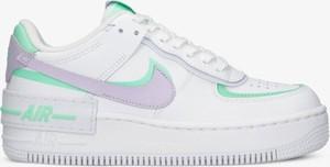 Buty sportowe Nike ze skóry z płaską podeszwą sznurowane