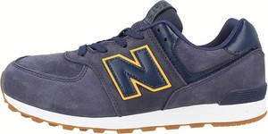 Buty sportowe New Balance z tkaniny sznurowane 574