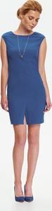 Niebieska sukienka Top Secret