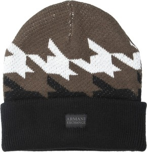 Brązowa czapka Armani Jeans