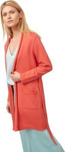 Pomarańczowy sweter ECHO w stylu casual