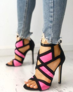 Różowe sandały Kendallme