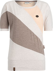 T-shirt Naketano w sportowym stylu z krótkim rękawem