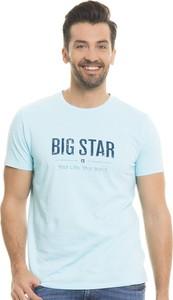 T-shirt Big Star z jeansu z krótkim rękawem