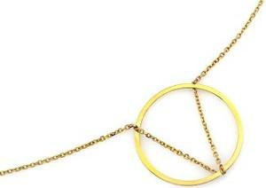 Lovrin Złoty naszyjnik 585 kółko celebrytka ring 1,32 g