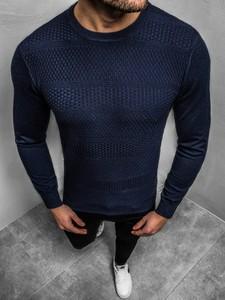 Granatowy sweter BRUNO LEONI w stylu casual