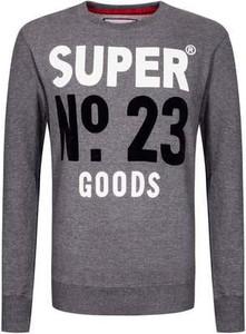 Bluza Superdry w młodzieżowym stylu z dresówki
