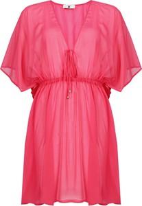 Sukienka Twinset z krótkim rękawem w stylu casual