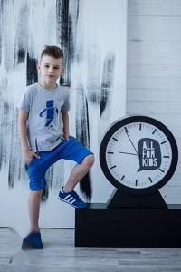 Niebieski komplet dziecięcy All For Kids