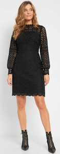 Czarna sukienka ORSAY z tkaniny