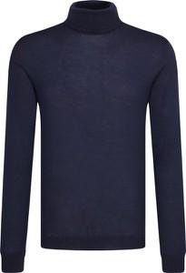 Niebieski sweter Joop! Collection z wełny