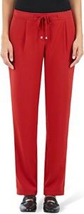 Czerwone spodnie marc cain