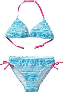 Niebieski strój kąpielowy bonprix bpc bonprix collection